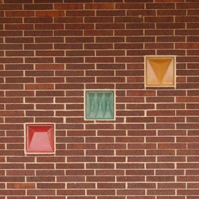 Sculptured Glass Block