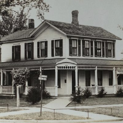 Three Random Old Houses – Then and Now